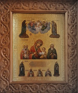 Колочская икона Божией Матери - главная святыня монастыря